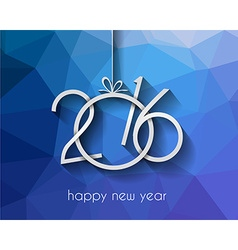 2016 happy new year background for your greetings vector