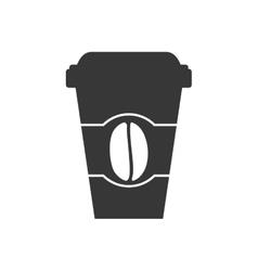 Mug icon coffee time design graphic vector