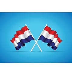 Netherlands flag vector
