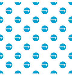 pointer pattern seamless vector image vector image