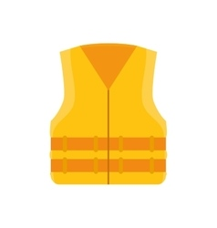 Yellow jacket industrial security equipment vector