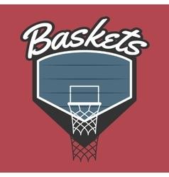 Basketball Team Logo vector image vector image