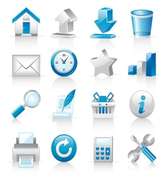 icons for web sites vector image