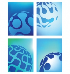 globe business backgrounds vector image