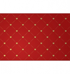 illustration of red wallpaper vector image