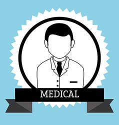 Medical healthcare icon vector