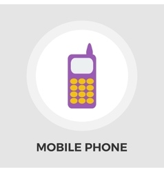 Phone flat icon vector image