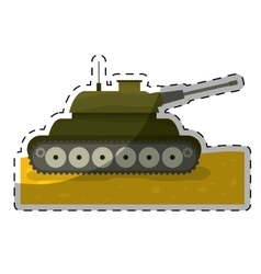 army related icons image vector image