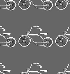 bicycles background vector image
