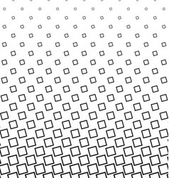 Black and white angular square pattern design vector image vector image