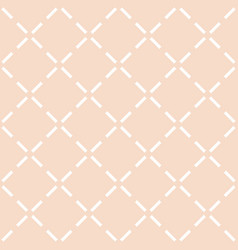 Tile pastel quilted pattern vector