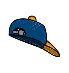 hat cap isolated vector image