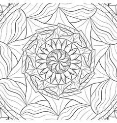 Mandala zentangle vector