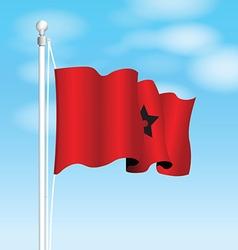 morocco flag vector image