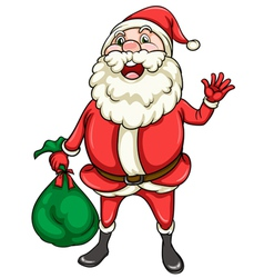 santaclause vector image vector image
