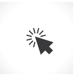 Arrow click vector