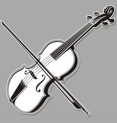 Violin lineart vector