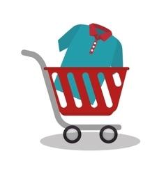 e-commerce shop online design vector image