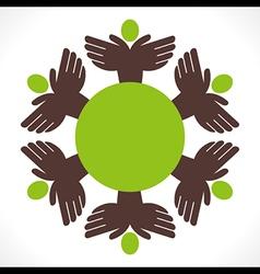 People unity concept design vector