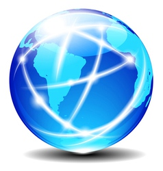 South latin america global communication vector