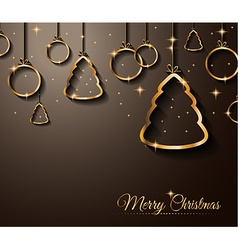 2015 New Year and Happy Christmas background vector image vector image
