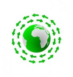 global cycle vector image