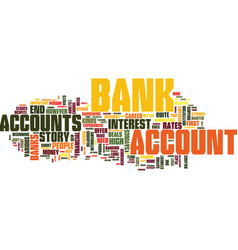 That initial trip to the bank text background vector