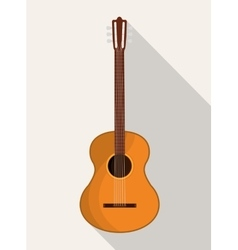 Music guitar instrument vector