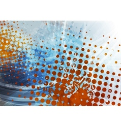 Abstract corporate colorful grunge background vector image