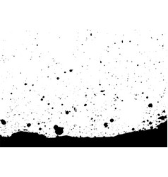 abstract splatter black color background vector image vector image