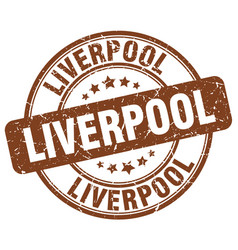 Liverpool stamp vector