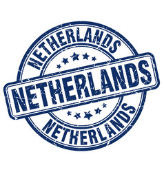 Netherlands stamp vector