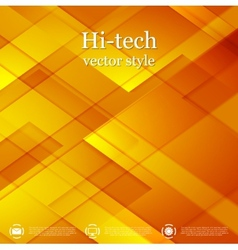 Bright abstract geometric tech background vector image