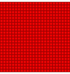 Seamless red polka dot patternn vector