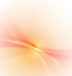 Abstract smooth lines background vector
