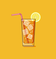 Iced tea vector