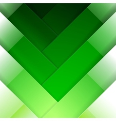 Abstract green crossing rectangle shapes vector