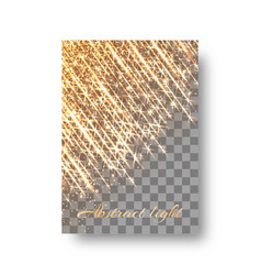 bright background with shining light vector image vector image