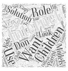 BWI what solutions are available Word Cloud vector image