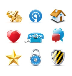 web icons | bella series vector image vector image