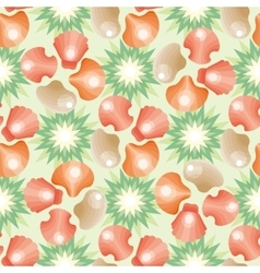 Decorative seamless background pattern vector