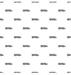 modern high speed train pattern vector image