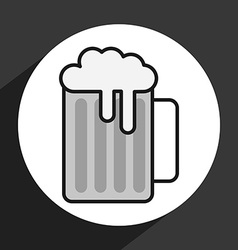 Ice beer vector