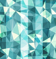Blue triangle seamless pattern vector