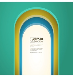 Arch background with arches vector image