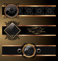 ornate decorative vector image