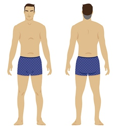 Man body vector