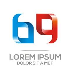 Logo abstract letter ag icon design vector