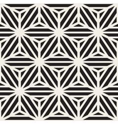 Seamless cube shape stripe lines geometric vector