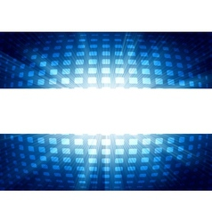 Abstract blue and white futuristic EPS 8 vector image vector image